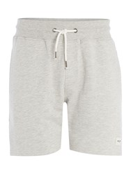 Only And Sons Sweat Shorts Light Grey Marl