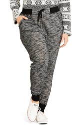 City Chic Plus Size Women's 'Track Time' Pants