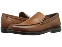 Nunn Bush Arlington Heights Moc Toe Venetian Saddle Tan Men's Slip On Dress Shoes Brown