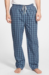 Michael Kors Cotton Pajama Pants Deep Sea