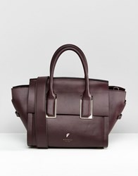 Fiorelli Mini Hudson Winged Tote Bag Mini Hudson Aubergi Purple