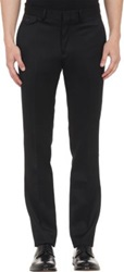 Duckie Brown Wool Trousers Black