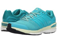 Adidas Supernova Sequence 8 W Shock Green Halo Women's Running Shoes Blue