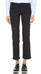 Rag And Bone The Equestrian Crop Straight Leg Jeans