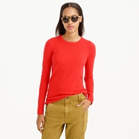 J.Crew Collection Cashmere Long Sleeve Tee