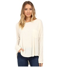Culture Phit Chavonne Cowl Back Top Cream Women's Clothing Beige