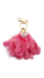 Sophie Hulme Dolly Key Ring Bright Pink