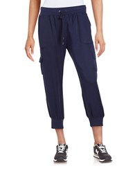 Marc New York Cargo Cropped Pants Navy