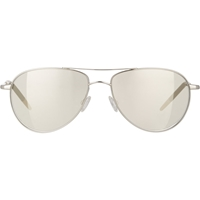Oliver Peoples Benedict Aviator Sunglasses White