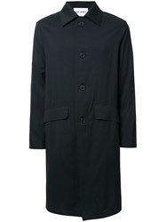Our Legacy 'Car' Single Breasted Coat Black