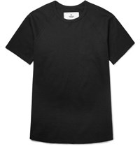 Reigning Champ Cotton Mesh T Shirt Black