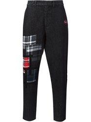 Sold Out Frvr Patchwork Tapered Jeans Multicolour