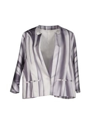 Neil Barrett Blazers Grey