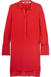 Mcq By Alexander Mcqueen Chiffon Shirt Red
