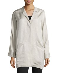 Lafayette 148 New York Petite Larissa Boyfriend Fit Coat Women's
