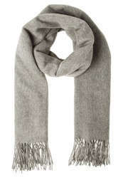 Ichi Aviva Scarf Grey Melange Light Grey