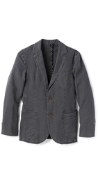 Brooklyn Tailors Sun Faded Linen Jacket Graphite