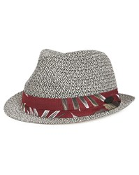 Stetson Grey Rowlett Hat With Small Brim In Floral Fabric