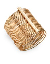 Design Lab Lord And Taylor Stacked Bangle Bracelet Gold