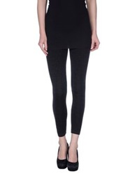 Moschino Couture Leggings Dark Brown