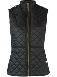 Burberry Quilted High Neck Gilet Black