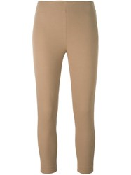 Joseph Cropped Trousers Nude And Neutrals