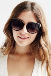 Urban Outfitters Vip Cat Eye Sunglasses Black