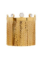Ca And Lou Karen Fringed 24Kt Gold Plated Bracelet