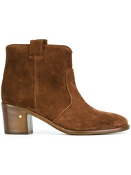 Laurence Dacade 'Belen' Ankle Boots Nude And Neutrals