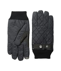 Original Penguin Quilter Nylon Gloves Black Extreme Cold Weather Gloves