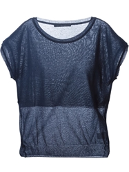 Kai Aakmann Shortsleeved Knit Top