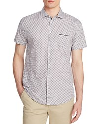 English Laundry Short Sleeve Slim Fit Shirt Compare At 79 Charcoal Brown