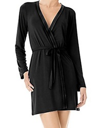 Calvin Klein Short Robe Black