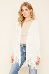 Forever 21 Contemporary Crepe Cardigan