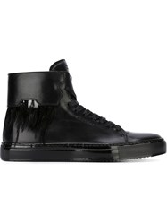 Buscemi Feather Detail Sneakers Black