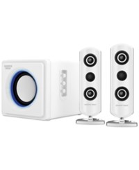 Sharper Image Bluetooth Speaker System White