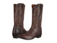 Lucchese M1002 Chocolate Madras Goat Cowboy Boots Brown