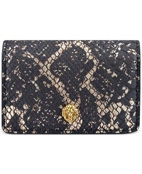Anne Klein Small Card Holder Black Lace