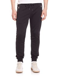 Moncler Solid Sweatpants Navy