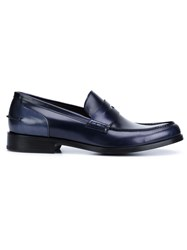 Lanvin Classic Penny Loafers Black