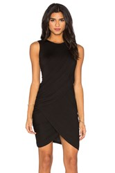 Michael Stars Eveny Bodycon Dress Black