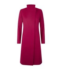 Harrods Of London Slim Collarless Coat Female Pink