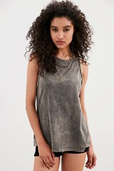 Truly Madly Deeply Braided Muscle Tank Top Taupe