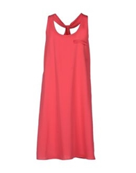 Hotel Particulier Knee Length Dresses Fuchsia