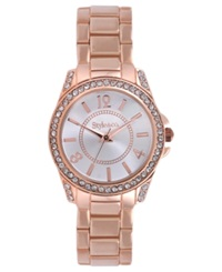 Style And Co. Watch Women's Rose Gold Tone Bracelet 28Mm Sc1327 Rosegold