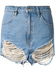 Neuw 'Lola' Denim Shorts Blue