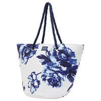 Joules Summerbag Beach Bag Navy Rose