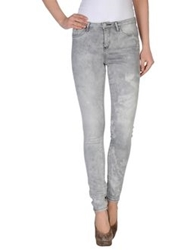 Maison Scotch Denim Pants Light Grey