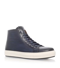 Magnanni High Top Sneakers Male Blue