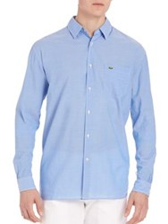 Lacoste Long Sleeve Chambray Voile Shirt